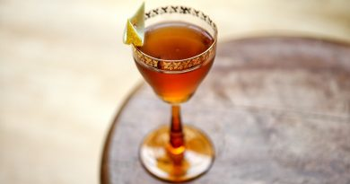 Try this sherry special Bamboo cocktail 4
