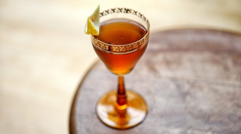 Try this sherry special Bamboo cocktail 1