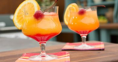 The best two-toned 'Tequila Sunrise Cocktail' 7
