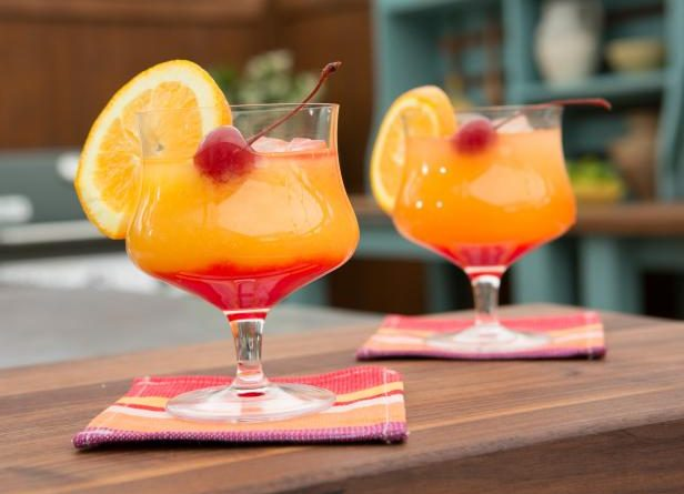 The best two-toned 'Tequila Sunrise Cocktail' 1