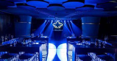 """Pune bar with dj lights"""