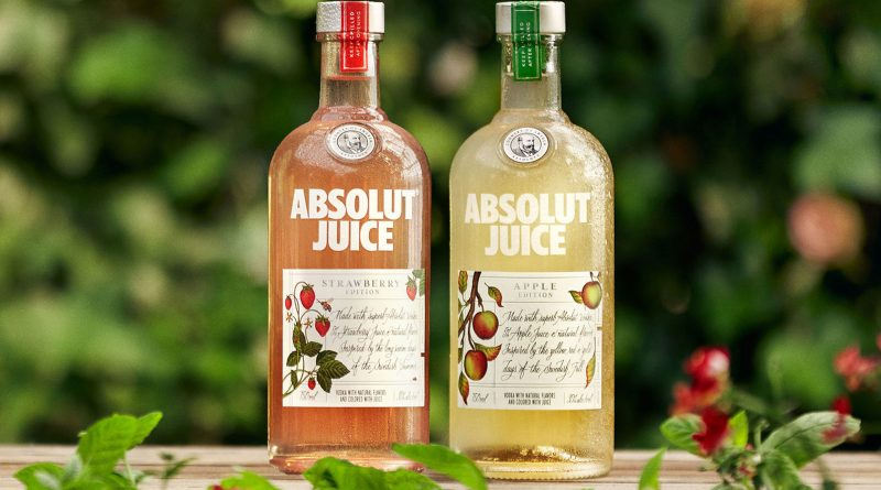 Absolut launches fruit flavoured vodka 1