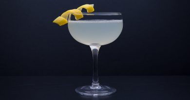 'corspse reviver with lemon twist.'>