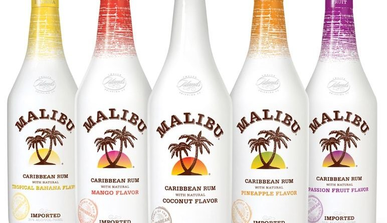 """""""Malibu rum with all its flavors."""">"""