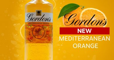 """Gordon's mediterranean Oraneg gin."">"