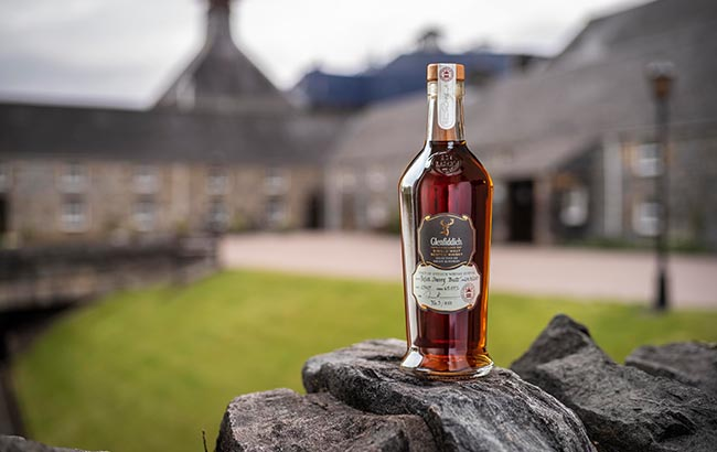 """Glenfiddich 2007 bottle on the hill."">"