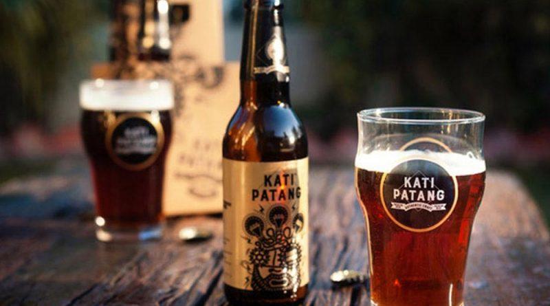 """Kati Patang beer with a glass."">"