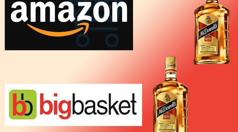 Amazon and Big basket set to deliver alcohol in India 1