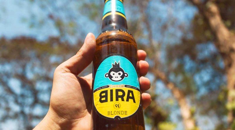 """""""Bira 91 blonde beer."""">"""