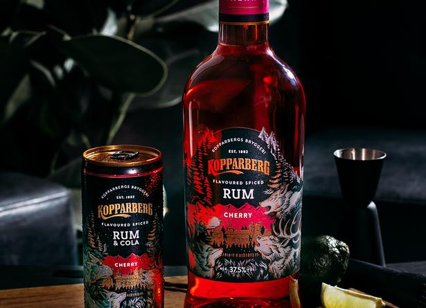 """Koopaberg's cherry spiced rum."">"