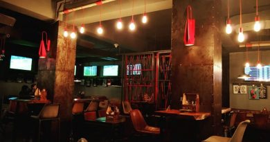 """Bulls & Beers, Guwahati bar with seating area"">"