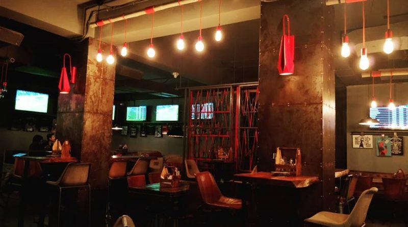 """Bulls & Beers, Guwahati bar with seating area"">"