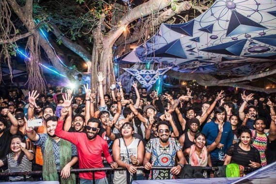 Pebble, Bangalore: An open air themed space bar 6