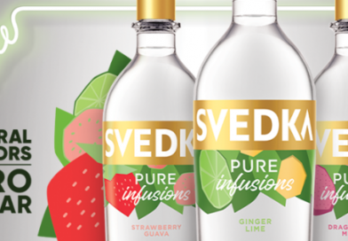 """""""SVEDKA Vodka launches Pure Infusions in 3 refreshing flavors."""">"""