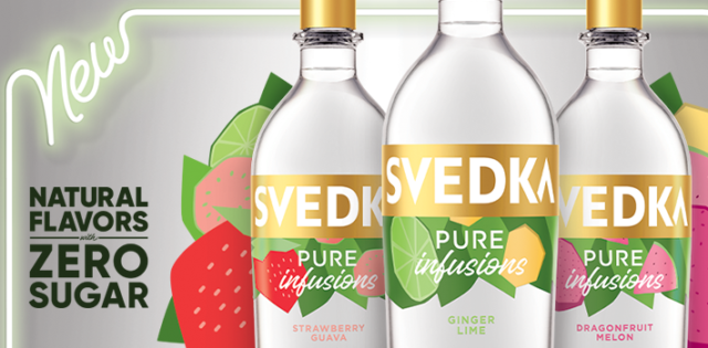 """SVEDKA Vodka launches Pure Infusions in 3 refreshing flavors."">"