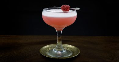 Classic clover club cocktail recipe 3