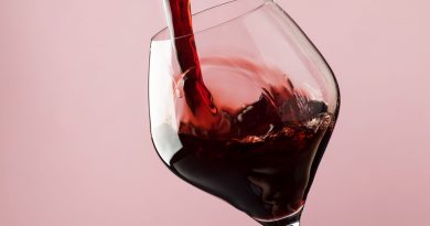 """Wine poured in a glass."">"