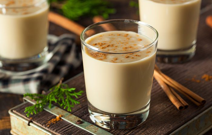 BOURBON MILK PUNCH 1