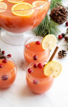Festive non alcoholic drink - Wassail punch 15