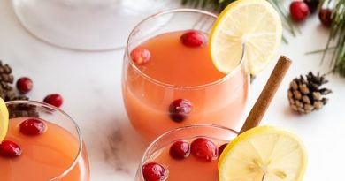 Festive non alcoholic drink - Wassail punch 4